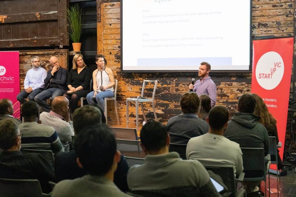 Brendan Bennett at Four ways to fund your startup event