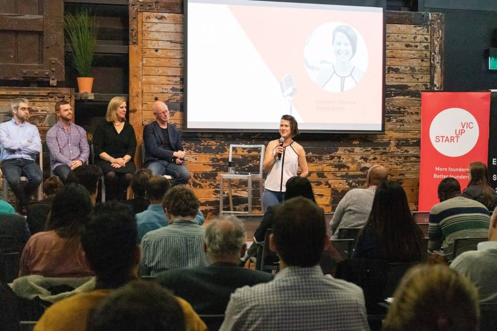 Shannon Gilleland at Four ways to fund your startup event